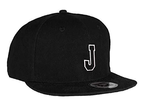 MFAZ Morefaz Ltd Jugend Baseball Kappe Kinder Mütze Basecap Mädchen Junge Schwarz Twill Snapback (J)