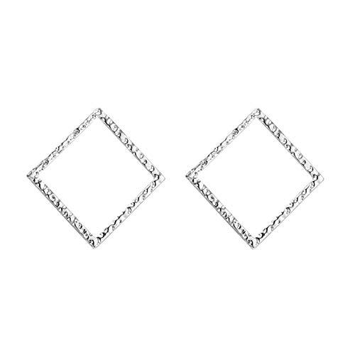 LDH Orecchini Semplici Europei E Americani Modo Hollow Geometric Diamond Orecchini Temperament Personality Plating Orecchini Wild Plating Orecchini