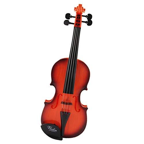 KESOTO Elektronische Geige Modell, Kinder Simulation Geige Violine Spielzeug Musikspielzeug Geschenk, ab 3 Jahre