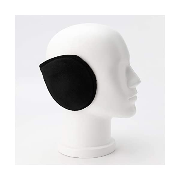 HIG Ear Warmers for Men & Women Classic Fleece Unisex Winter Warm Earmuffs