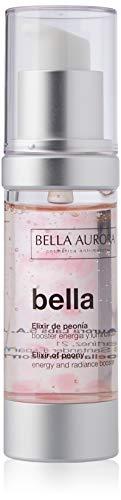 BELLA AURORA Tratamiento Facial Anti-Edad y Anti-Arrugas con Ácido Hialurónico, 30 ml, Pieles Cansadas y Apagadas, Piel Firme, Tersa y Luminosa, Elixir de Peonía, Bella