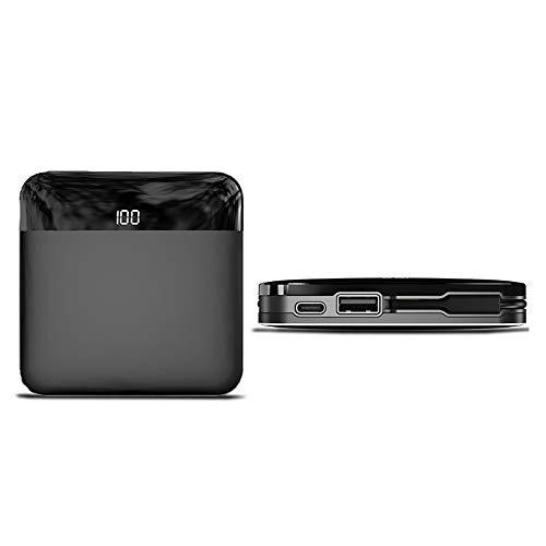 GWX 10000 mAh draagbare accu, mini wordt geleverd met een digitale led-indicator, compatibel met de Samsung Android iPhone en -tablet.