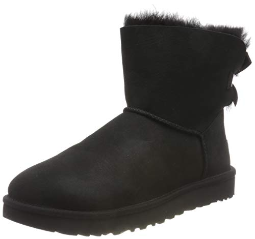 UGG Damen Mini Bailey Bow Ii Schlupfstiefel, Schwarz (Black), 36 EU (3 UK)