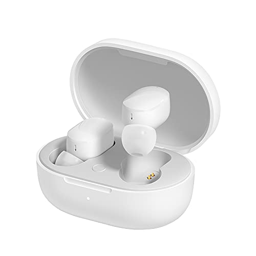 Redmi Earbuds 3 Pro, White, High Definition Wireless Audio with Qualcomm chipset, Dual Drivers, Up to 30 Hours Battery Life, IPX4 Splash & Sweat Proof