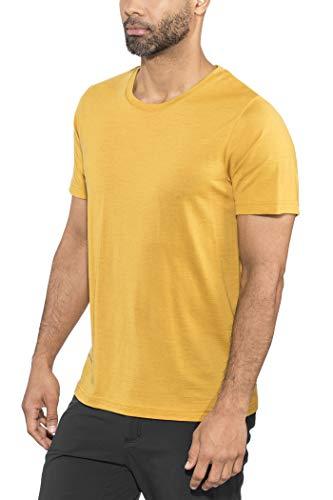 Bergans Oslo Wool T-Shirt Homme, Mustard Yellow Modèle L 2021 T-Shirt Manches Courtes