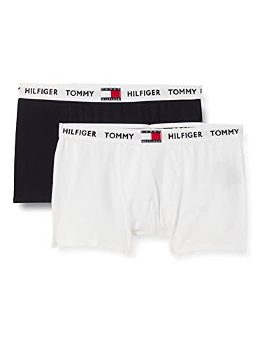 Tommy Hilfiger 2P Trunk Ropa Interior, White/Desert Sky, 10/12/2020 para Niños