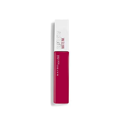 Maybelline New-York – Rouge à Lèvres Mat Liquide – Longue Tenue – Superstay Matte Ink – Teinte : Artist (120), 5 ml