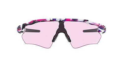 Oakley unisex adult Oo9208 Radar Ev Path Kokoro Collection Sunglasses, Black/Kokoro/Prizm Low Light, 38 mm US