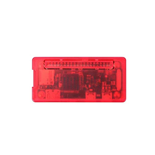 HUANRUOBAIHUO For Raspberry Pi Zero W Case Red ABS Plastic Box GPIO Reference Case for RPI Zero 1.3 W 3D Printer Parts