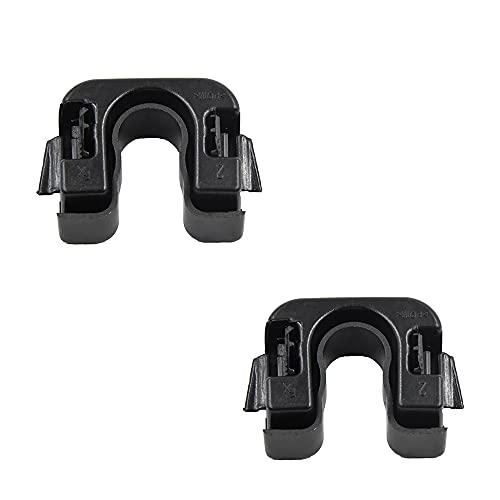 CANTONDZ 1 Paar Gepäckträger Heckhalterung Hutablage Halter Clip 1539663 für Ford Nissan Fiesta & B-Max