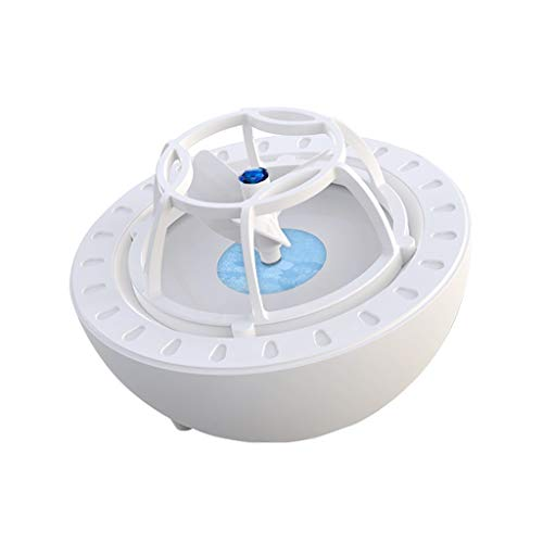 Fheaven USB Mini Washing Machine Multi-Function High Pressure Wave Dishwasher Portable Cleaner Blue
