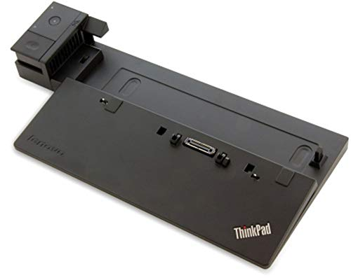 Lenovo 40A10090UK 90 W Pro Dock for ThinkPad T450, T450s, T550, T440, T440s, T440p, T540p, X240, L450 Laptops (Renewed)