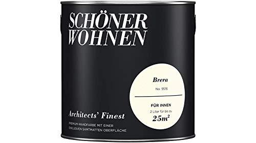 SCHÖNER WOHNEN FARBE Wand- und Deckenfarbe Architects' Finest, Brera 2 l, Brera