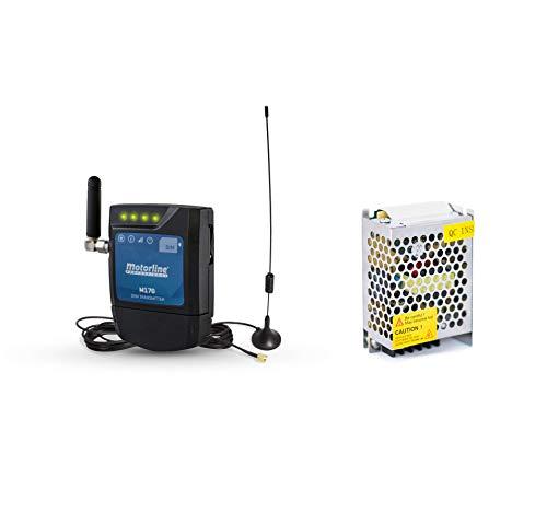 Motorline M170 GSM-bluetoothmodule voor het openen en op afstand bedienen van deuren of apparaten via telefoongesprek, sms, met smartphone, Android-app