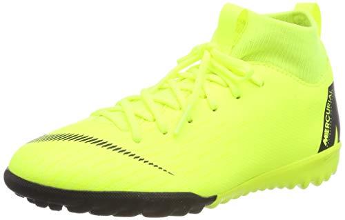 Nike Jr Superfly 6 Academy Gs Tf, Unisex Kid's Footbal Shoes, Multicolour (Volt/Black 701), 4.5 UK (37.5 EU)