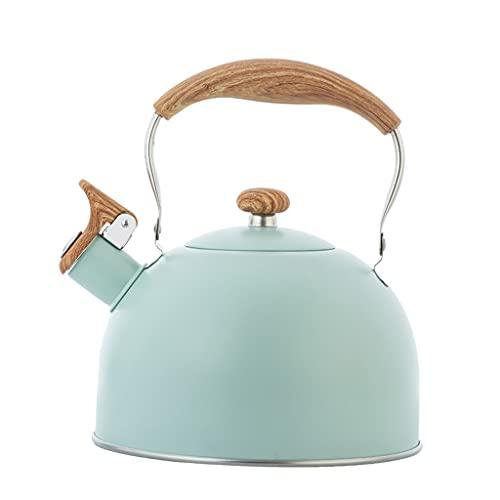 MERIGLARE 2.5L Fluitende Theepot Houten Roestbestendige Grote Capaciteit Food Grade Kookgerei Energiebesparend Koken…