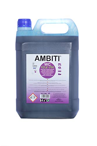 Ambiti Natur - Pino 5 l. aditivo para el deposito de residuos, aguas negras, sanitari fluid.