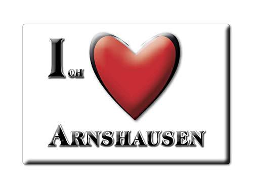 Enjoymagnets ARNSHAUSEN (BY) Magnet Deutschland Souvenir I Love Geschenkidee