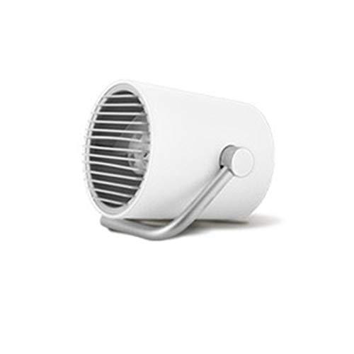 HMY Tragbare Mini-USB-Schreibtisch-Ventilator-Silent-Creative-Home Office Desktop-Ventilator Mit Einem Ventilatorflügel Mit Zwei Geschwindigkeiten Einstellbar Windgeschwindigkeit,B