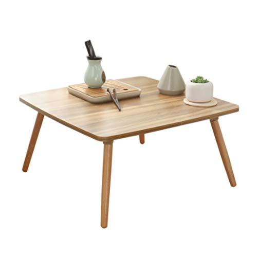Table D'ordinateur Petite Table Basse Tables De Bureau Petite Table Table Pliante Petite Table Basse en Bois Petite Table Basse Bois Petite Table Basse Salon Petite (Taille : 50 * 50cm)