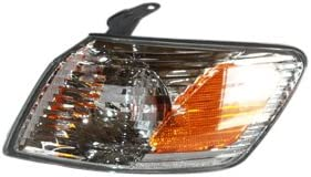 Up To 06//00//2001 Front Left Driver Side Turn Signal Light Compatible with 1999-2001 Toyota Camry
