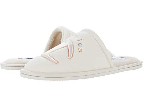 Champion Women's Sleepover II Slippers (Chalk White/Multi, 8)