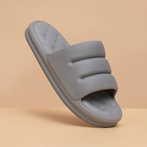 XJJ Zapatillas De Casa,Youdiao Mute Sofá Cómodo Desliza A Las Mujeres Suela Gruesa Zapatillas Interiores Suaves Mujeres Sandalias Antideslizantes Hombres Plataforma De Verano Zapatos De Mujer Baño, G
