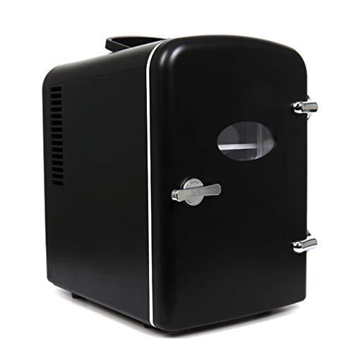 WJSWBX 4L 12V DC 220V AC Kühlung Heizung Kühlschrank Mini Kleines Haus Mini Auto mit doppeltem Verwendungszweck Der Kühlschrank Der Kühlschrank Außenmaße: 27 * 18,4 * 26,5 cm Innenmaße: 20 * 1