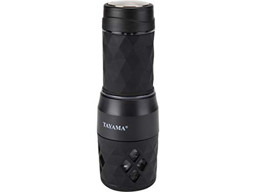 Tayama TMS-838 Portable Hot/Cold Espresso Machine, one size, Black