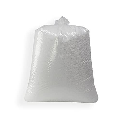 Acomoda Textil - Bolas de Poliestireno, 200 litros Relleno de Bolas para Puff. Perlas...