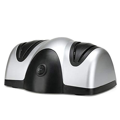 LYzpf Affilacoltelli Elettrico Coltelli da Cucina Portatili Multifunzione Affilatura di Posate Professionali Utensili da Taglio per Chef e Uso Domestico