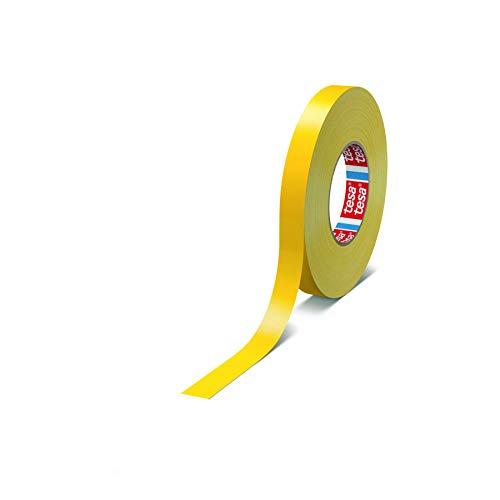 tesa band 4651 Premium leistungsstarkes Gewebeband versch. Breiten und Farben (19 mm x 50 m, gelb)