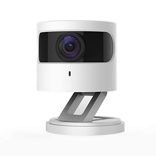 Azarton WiFi Kamera, 1080p HD WLAN IP Kamera Smart Home Innenkamera mit Nachtsicht, 2-Wege-Audio, 1er-Pack, Weiß, Azarton C1