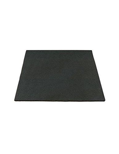 Unterlage für Handwerker feuerfest schwarz, ca. 30 x 30 cm