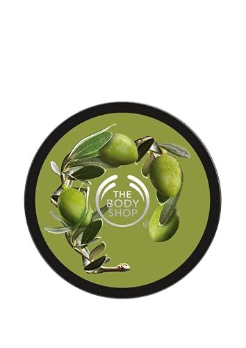 The Body Shop Olive Body Butter unisex, Olive Körperbutter 200 ml, 1er Pack (1 x 200 ml)