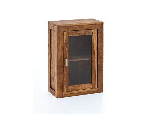 Woodkings® Hängeschrank Bad Lagos Holz Palisander Badezimmer Möbel Wandschrank Badezimmerschrank Badschrank Massivholz