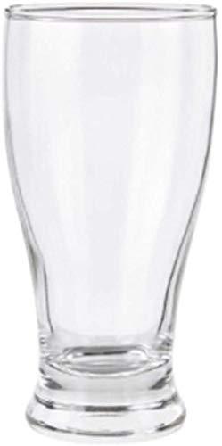 Tazas de cerveza, cerveza steins, cristalería de cerveza, taza de cerveza, 375ml Taza de cerveza de cristal, 6 paquetes, taza de jugo, taza de bebidas, taza de leche, taza de leche, taza de leche, taz