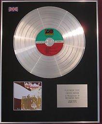 Century Music Awards LED ZEPPELIN - CD Platinum Disc- LED ZEPPELIN II