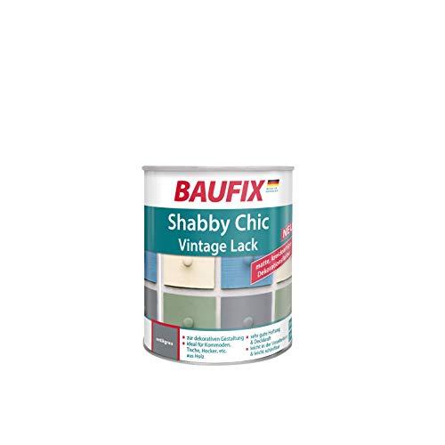 BAUFIX Shabby Chic Vintage Lack, antikgrau, 0,75L