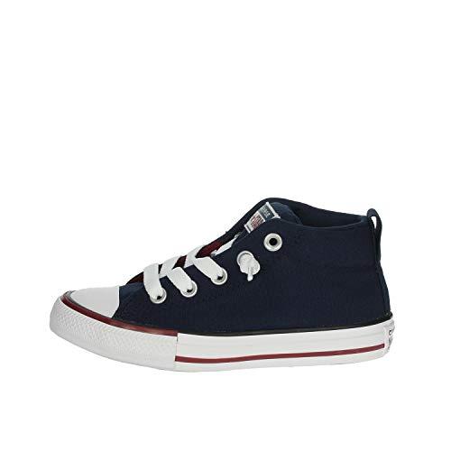 Converse Kinder Sneaker Chuck Taylor Mid Street Varsity Navy, Größe:28