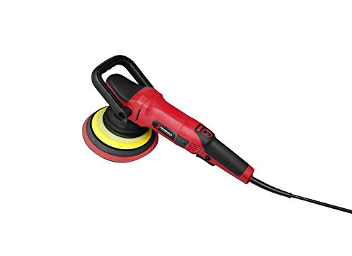 Shurhold 3500 Professional Grade Long Throw Dual Action Polisher Pro Car Boat Buffer Polisher with Carrying Bag, Adjustable D-Handle, Powerful Motor and 6 Variable Speed Control