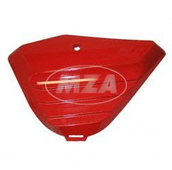 Tapa lateral izquierda–ABS Chimenea Rojo lacado–con