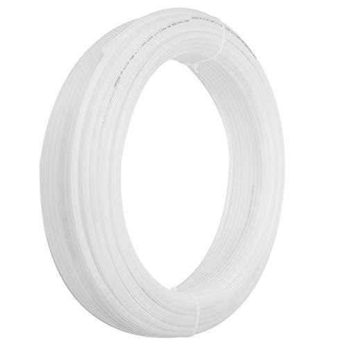 Manguera de nylon, manguera de aire de buena flexibilidad, estable, duradera, para aire, aceite, agua, 3.2Mpa(8 * 6 white*100M)