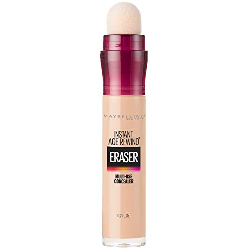 Maybelline Instant Age Rewind Eraser Dark Circles Treatment Multi-Use Concealer, Light, 0.2 Fl...