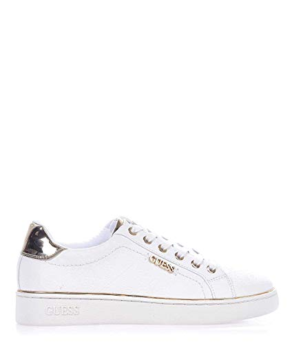 givenchy scarpe donna Guess Luxury Fashion Donna FL5BEKFAL12WHITE Bianco Sneakers | Stagione Outlet