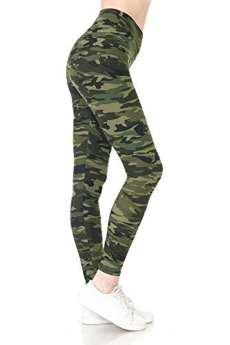 LYR-N021 Camouflage Army Yoga Print…