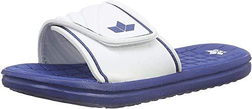 Lico BARRACUDA V Unisex Erwachsene Badeschuhe, Blau/ Weiß, 46 EU