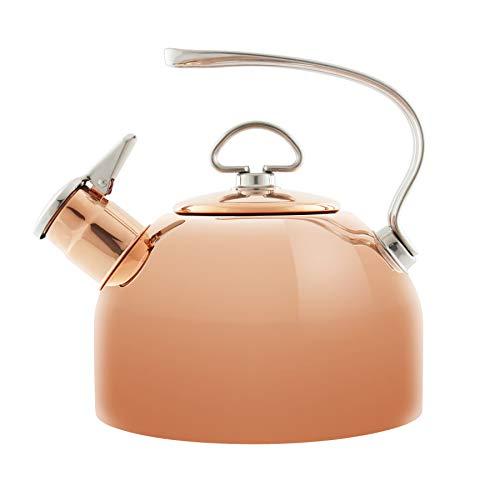 Chantal Copper Classic Teakettle-1.8 Quart
