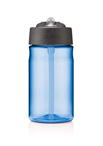 Thermos 101582 Hydration Water Bottle with Straw, Blue, 355 ml