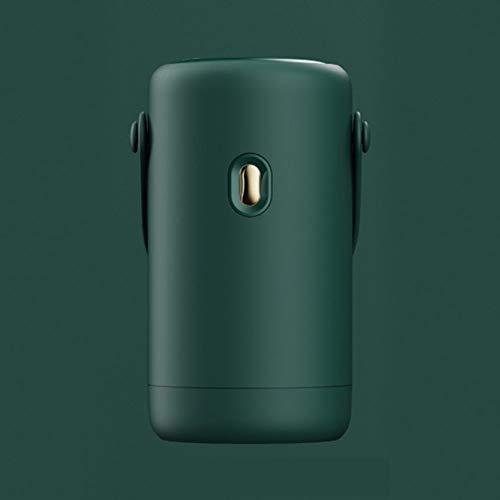 AIPZDJ Conciso Portátil Eléctrico Secadora de Ropa 250W Capacidad 4 kg Eléctrico Secador Plegable Interior Viaje Mini Secador para Casa Dormitorios,Green